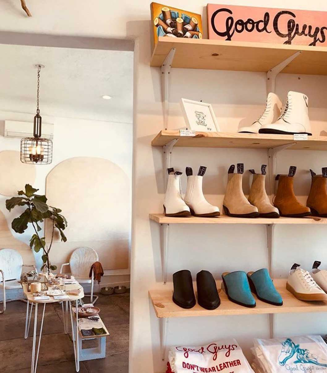 Labels Shoes Paris sustainabel eco shoes first vegan shoes in Paris Good guys dont wear leather