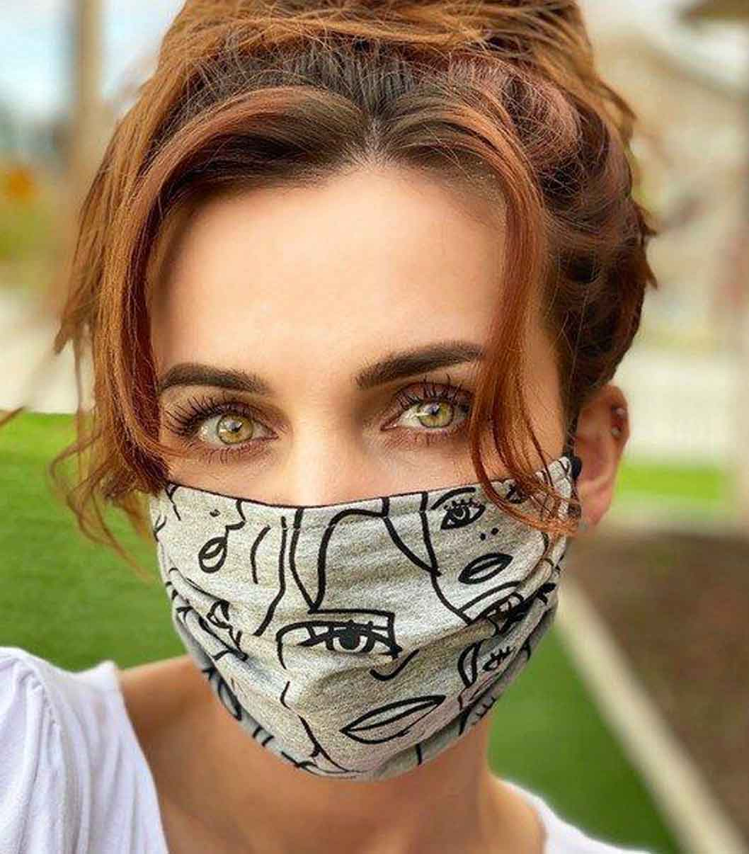 HAILEY SOLAR SUSTAINABLE FACE MASK LA good fashion guide ECOLOOKBOOK
