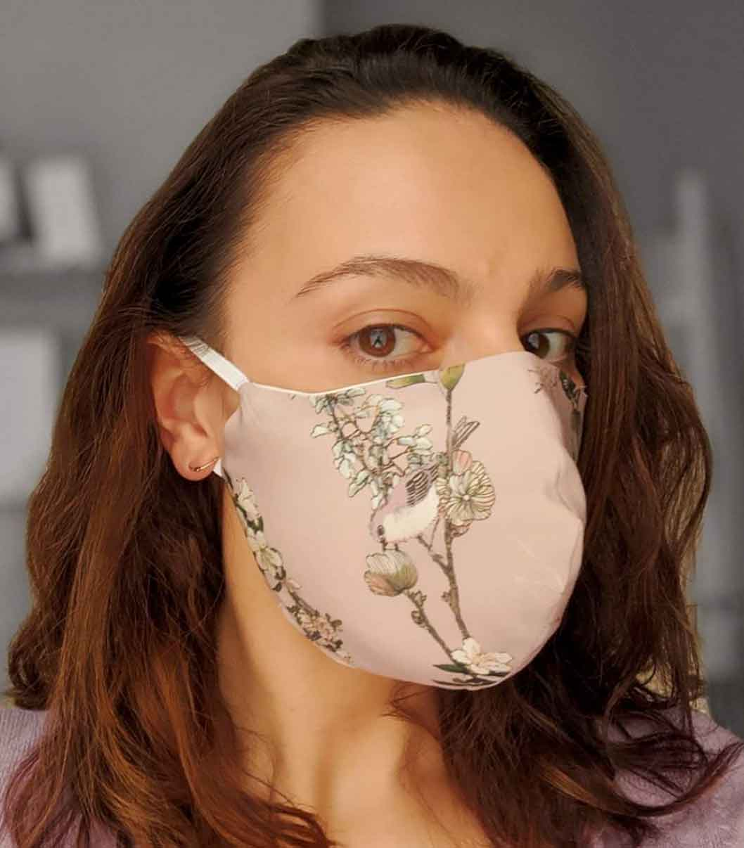 Face Mask Covid-19 Coronavirus Bozena Jankowska Sustainable Fashion