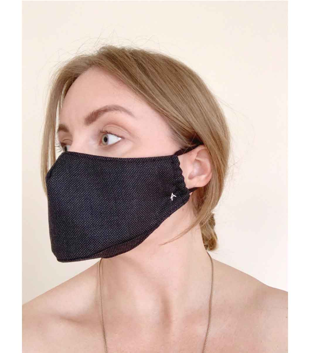 Organic Civilian Face Mask Arielle Sustainable Fashion Non-Medical Mask