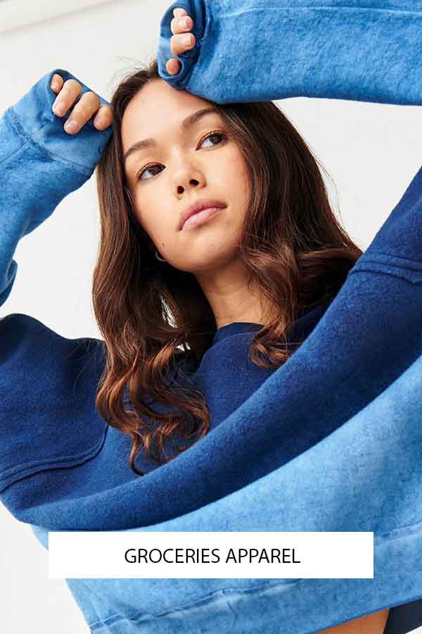 GROCERIES APPAREL US SUSTAINABLE FASHION LABEL ECOLOOKBOOK NACHHALTIGE MODE