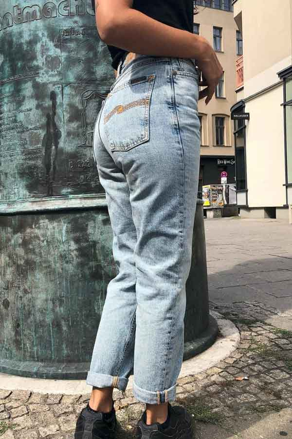NUDIE JEANS SUSTAINABLE FASHION SWEDEN ECOLOOKBOOK