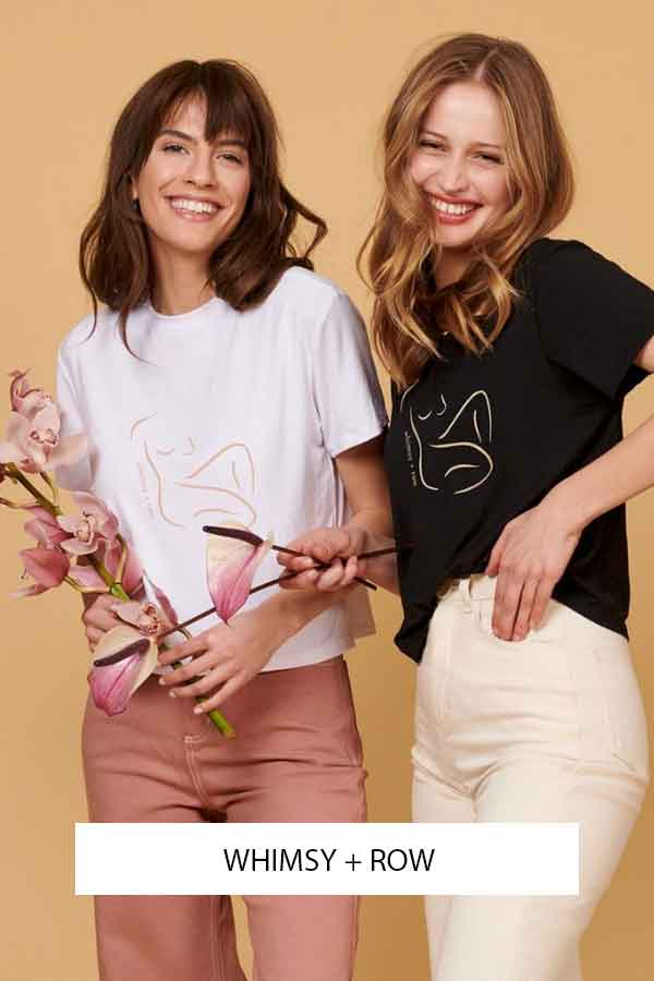 WHIMSY AND ROW SUSTAINABLE FASHION BRAND USA ECOLOOKBOOK