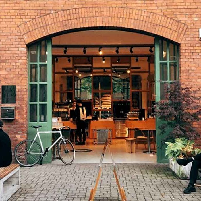 going out eco in berlin sustainable restaurants coffee shops Bonanza Coffee house