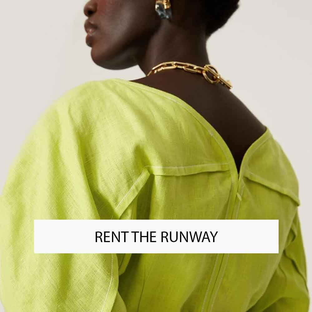 RENT THE RUNWAY US RENT FASHION ECOLOOKBOOK