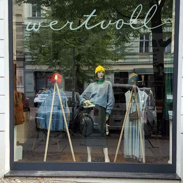 where to shop sustainable fashion in berlin wertvoll multi brands
